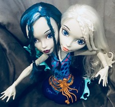 Monster High Peri Pearl Serpentine Styling Doll Head salon B18 - $49.49