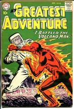My Greatest Adventure #36 1959-DC-Volcano Man-sci-fi-10¢ cover price-VG+ - $44.14