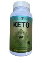 Natures Divine KETO Weight Loss Appetite Suppressant 60 Capsules Exp: 04... - $11.21