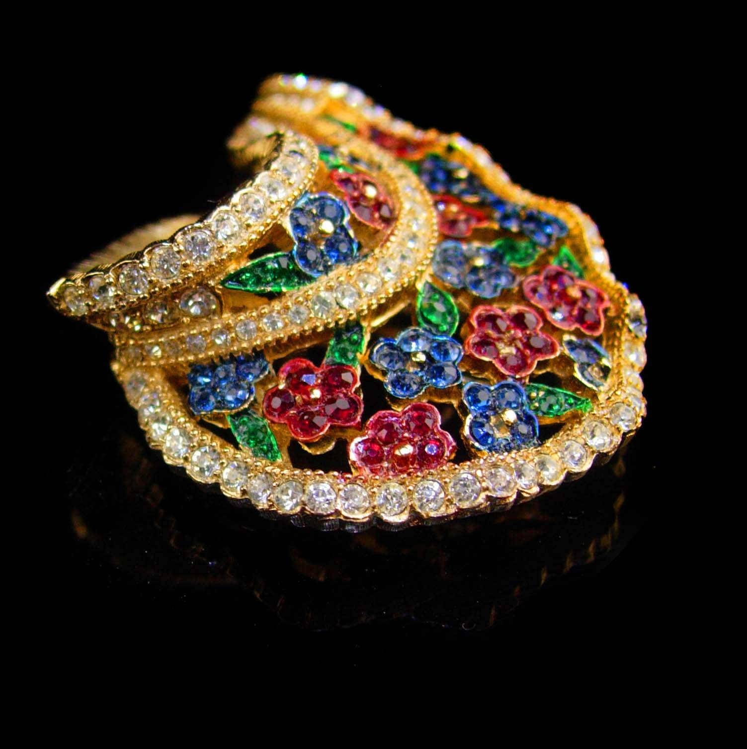 Couture Jewelry - Signed LeC Le Couturier - Marcel Boucher - designer couture