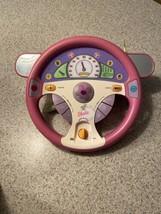 Vintage Barbie Drive With Me Steering Wheel Works Perfectly Year 2000 - $49.49