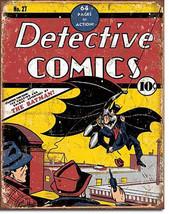 Detective Comics Batman DC Universe Villains and Super Hero Metal Sign - $20.95