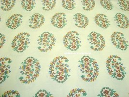 Window Valance w New Ralph Lauren Fabric ANTIGUA PAISLEY PINK BLUE GREEN... - $34.45