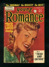YOUNG ROMANCE #61 1953-SIMON & KIRBY-PHOTO COVER-CLASSIC-very good VG - $62.08