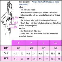 Women's Push Up Padded High Waist Ethnic Print Bikini Swimwear Set image 13