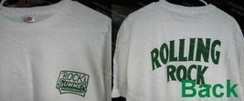 Rolling Rock NEW TWO Hideaway Logo Tees XLarge AND Pair of Wrist Pong Ba... - $24.95