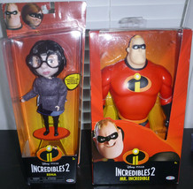 Disney Pixar Incredibles 2 Mr. Incredible and Edna Action Figures Lot Of... - $23.75