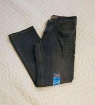 Nwt Arizona J EAN S Boys Size 10 Regular Black Adjustable Waist - $16.14