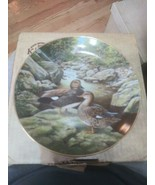 """THE GADWALL Collector Plate Bart Jerner 8.5"""" 1988 Edwin M Knowles Box & ... - $7.87"""