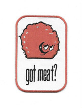 Aqua Teen Hunger Force Meatwad Got Meat? Embroidered Patch, NEW UNUSED - $7.84