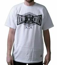 KR3W X Gauner & Burgen Colab Union Clan Weiß M T-Shirt