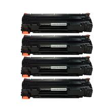 4PK CE285A Black Toner Cartridge for HP 85A LaserJet P1102W M1217nfw MFP - $30.50