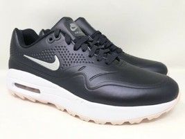 Nike Air Max 1 Golf Shoe AQ0865-003 Gridiron/Metallic Silver Women's 9.5 - $59.39