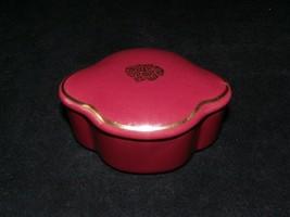 Vintage Imari Elegant Treasures Ceramic Trinket Box Avon Gift Set Trinket Box - $9.99