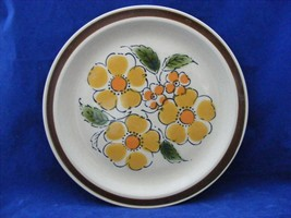 """Montrose 10 3/8"""" Dinner Plate Hand Decorated Oven Proof Japan Nice - $8.00"""