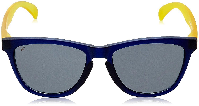 Fastrack Wayfarer Unisex Sunglasses (PC003BK6 Grey)
