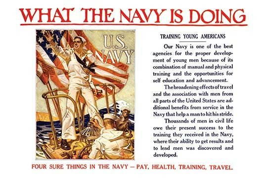 What the Navy is doing - Training young Americans Four sure things in the Navy - - $19.99 - $179.99