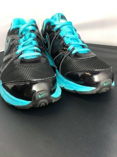Nike Reax Rocket 2 Running Shoes 454175 004 Black Aqua Womens Size 8.5 image 9