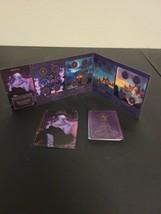 Disney Villainous Board Game Replacement Parts Ursula Board Guide Cards Euc - $49.94