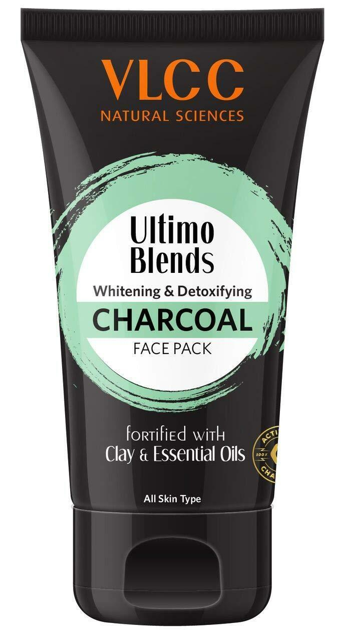 VLCC Ultimo Blends Charcoal Face Pack, 100 GM FS
