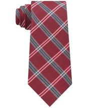 Tommy Hilfiger Men's Classic Tattersall Plaid Tie (Red, 3″) - $54.43
