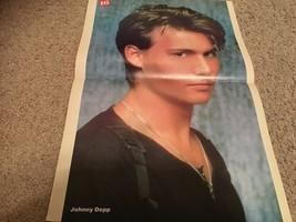 Johnny Depp Mackenzie Astin Sean Astin teen magazine poster clipping huh Bop