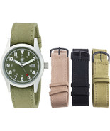 Smith & Wesson Olive Water Resistant Military Interchangeable Band Watch... - $32.99