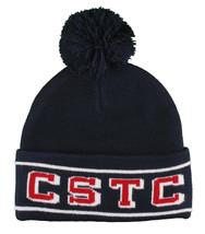 Crooks & Castles Knit CSTC Can't Stop The crooks Scholars Pom Beanie Ski Hat NWT