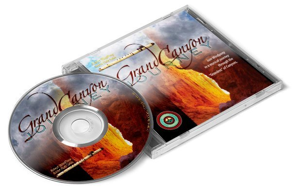 Grand Canyon Journey - flute music CD by Robert Windpony