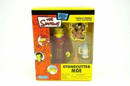 The Simpsons Stonecutter Moe Mail Away Figure Playmates MIB Mint WOS - $79.99