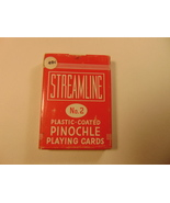 Streamline, No. 2, Pinochle Playing Cards. Sealed Deck. - $11.99