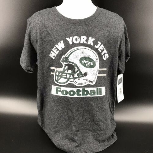 Primary image for NFL New York Jets Cotton Poly Blend Tee Shirt Size Youth XS (4/5) NEW W/Tags -i