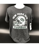 NFL New York Jets Cotton Poly Blend Tee Shirt Size Youth XS (4/5) NEW W/... - $14.99
