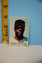 1969 Sports Collectors MLB Baseball Stars Photo Stamps Willie McCovey Gi... - $5.90