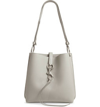 Rebecca Minkoff Large Megan Shoulder Bag - Ice Grey (Retail - $328) - $137.61