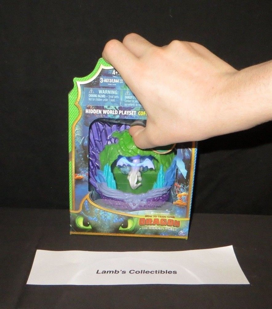Primary image for How to train your Dragon 3 The Hidden World Light fury play set Spin Master toy