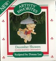 1987 - New in Box - Hallmark Christmas Keepsake Ornament - December Showers - $4.94