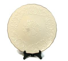 Lenox Vintage Wedding Promises Marriage Platter Round Ivory Bone China 1... - $34.64