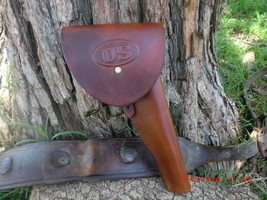 Cavalry Holster U.S  Black Powder  Old West Civil War Cowboy Action Hand... - $70.13