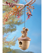 Squirrel on Acorn Birdhouse - $19.95