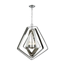 Elk Lighting 33172/5 Pendant Light, Polished Chrome - $112.18