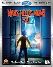 Disney Mars Needs Moms [3D + Blu-ray + DVD]