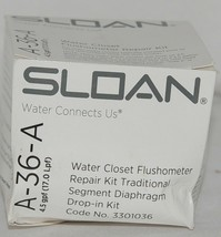 Sloan Water Closet Flushometer Repair Kit Traditional Segment Diaphragm Drop In image 1
