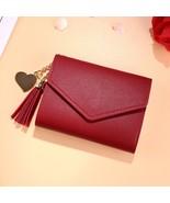 Mini Tassel Wallet Women Fashion Purse Female Short Mini Wallets Korean ... - $10.33