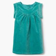 NWT Gymboree Creative Types Girls Green Velvet Sleevess Dress 2T 3T - $10.99