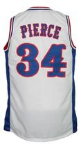 Paul Pierce #34 Custom College Basketball Jersey New Sewn White Any Size image 2