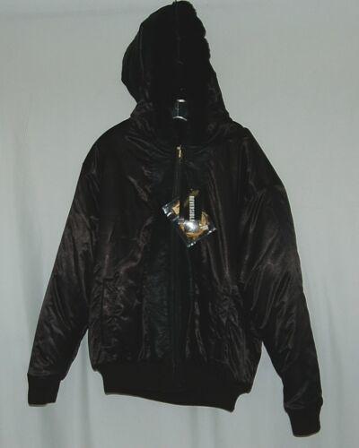 Ablanche 9FJ02 Large Convex Black Reversible Coat Faux fur