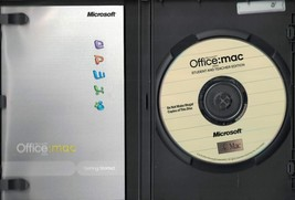 Microsoft Office Mac Student and Teacher 2004 Word Excel PowerPoint MAC - $19.79