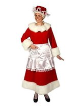 Regal Red Velvet Mrs. Claus Large Dress Size 12 to 14 - $146.95
