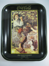 Coca-Cola Norman Rockwell 1931 Calendar Art Tray Brown Old Oaken Bucket ... - $9.90
